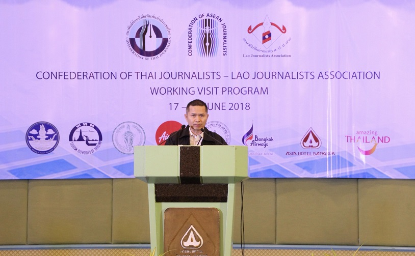 Welcome Speech by Mr.Pramed Lekpetch, CTJ president on June 17, 2018 at the Opening Ceremony of CTJ – LJA Working Visit Program